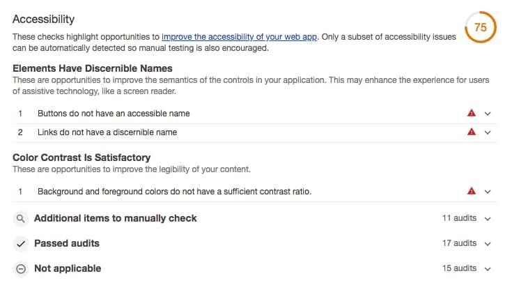 Accesibilidad del sitio web