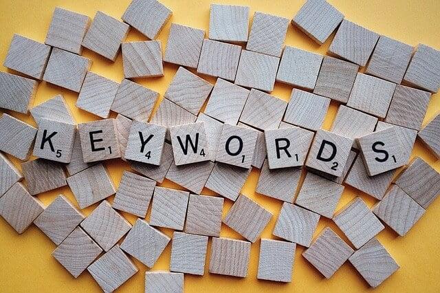 Guía para investigación de palabras clave