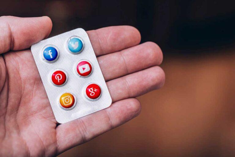 redes sociales en servicios sanitarios